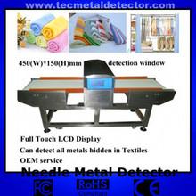 Profesión de seguridad de larga vida de servicio de alimentos y ropa, detector de la aguja de la máquina para laindustria de alfombras tec-qd