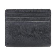 Unique design traditional calf leather saponaceous card holder