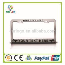 national flag car license plate frame plastic license plate frame