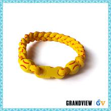 Top quality Custom Best sale magnetic bracelet titanium germanium