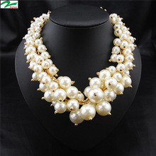 wholesale jewelry trendy mother of pearl necklace