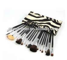 18pcs cosmetic brush set makeup brush set/makeup brushes