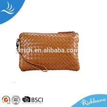 new design leather fashion cosmetic bag pop sale