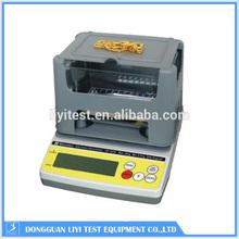 Digital gold density testing apparatus