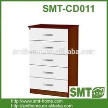 modern european style KD multi drawer cabinet for bedroom