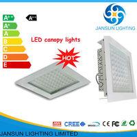 UL CE 5000k led canopy lighting fixture for gas station 100 watt