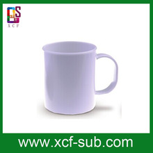 6oz coffee mug with Polymer Sublimation Plate