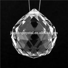 crystal ball chandelier machine cut