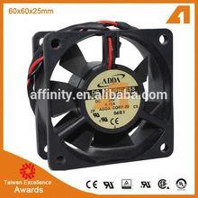 QF6015HS2 5V 12V 24V 12v dc electric motor quiet small fan