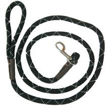 popular hand braided dog leash,machine braided dog lead reflective leash