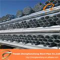 Venta al por mayor de alibaba tubular postes de acero y tubo de acero galvanizado