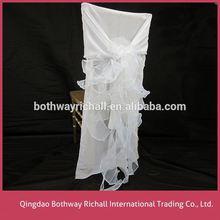 Chinese Wedding Chair Cover And Chiffon Sash