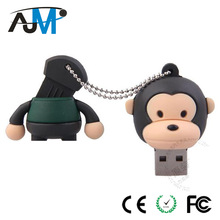 Animal Shape USB Flash Drive 2.0 PVC Material