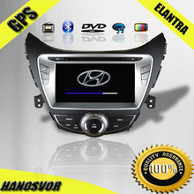 8 inch Car DVD GPS for Hyundai New Elantra car audio BT Radio