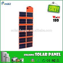 24%Effi. Sunpower solar battery charger ,12v 180w solar panel for car, boat