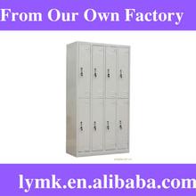 key hanging board Powder Coat Paint Steel Full Length 2-Tier storage Locker