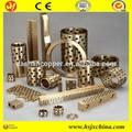 maquinaria de la ingeniería de alta temperatura jdb de grafito de la manga de cobre