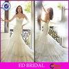 EDW653 New Arrival Lace Mermaid Sweetheart Neck Wedding Dress 2015