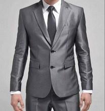 Freeman Collection light gray black houndstooth men 2 piece suit