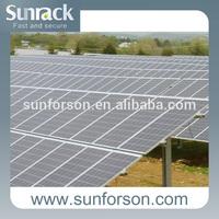 Solar energy system,pile mounting bracket for megawatt power plant