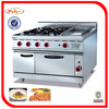 heavy duty cooking range with 4-burner & Griddle & Oven GH-996A 0086-13632272289