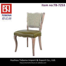Hot sale modern leather restaurant dining chair TB-7253