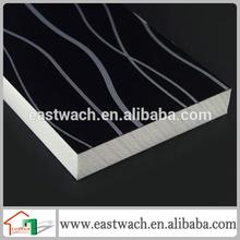 Anti-aging plastic exterior wall decorative panel