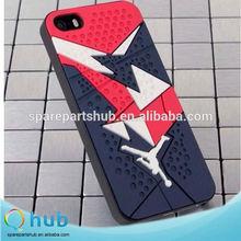 Cool Rubber 3D jordan shoe phone case for iPHone 6, Jordan Sneaker bottom phone case