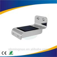 solar powered light control sensor lamp