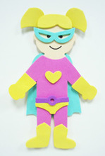 Super shero craft kit EVA foam toy
