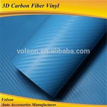 High quality big discount 3D carbon fiber vinyl with air channel size 1.52*30M