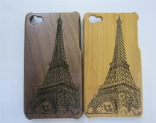 bamboo phone case/ design your own mobile phone case/ phone case with shoulder strap for iphone 5