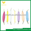 fancy types of elastic cord with metal barb end