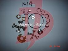 rebuilt kits K14 citroen,pug calibra Turbocharger repair kits