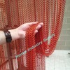 Fly screen aluminum link insect hanging door curtain