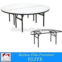Hot sale folding melamine outdoor party table for sale EZ-68