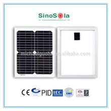 12v solar panel TUV/PID/IEC/CEC/CE(3W-315W)/ISO certificates