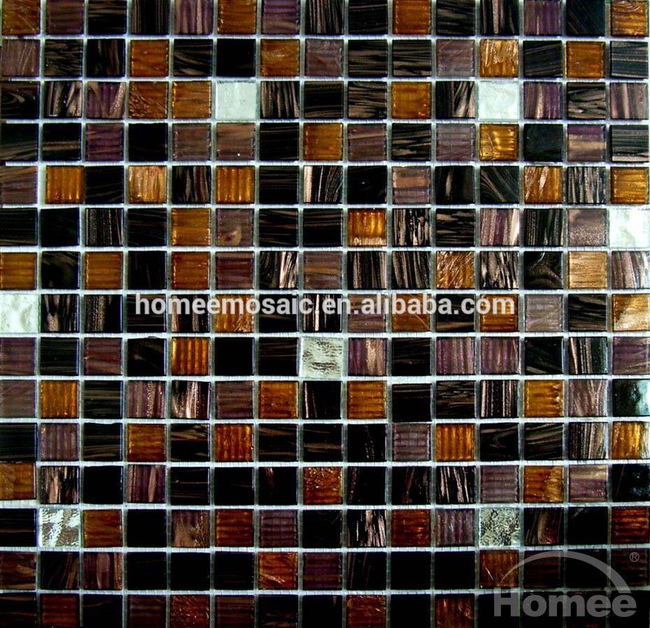 Diamant moza ek moza ek tegel groen met gouden lijn glas moaic tegel tegels product id - Groene metro tegels ...