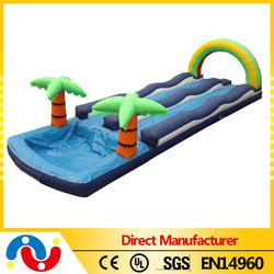 Custom slip n slide inflatable,tropical slip and slide