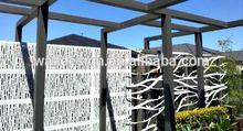 Denmark laser cut outdoor metal panels