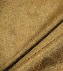 dark gold yarn dyed silk dupioni fabric wholesale