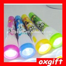 OXGIFT With a small flashlight ballpoint pen ,Multifunction pen
