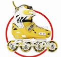 Yeni model barbie tekerlekli paten tekerlekleri yüksek aşınma direnci malzemeler pvc- hptz97