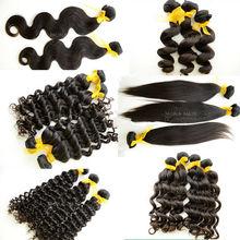Varied waves raw intact full cuticle 100% human wavy hair