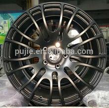 Forged Replica car aluminum alloy wheel Matt black 18inch