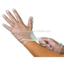 FDA,CE,ISO approved AQL1.5,2.5,4.0 examination gloves vinyl for exam,laboratory