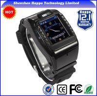 New 2014 1.4inch dual sim watch phone waterproof RAM512M Quadband:850/900/1800/1900 watch mobile phone