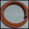 High strength weaving fiber braided working pressure 20bar flexible rubber gas cooker hose with different sizes