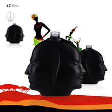 Forme Unique verre bouteille de parfum / corps forme bouteille de parfum