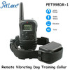 Rechargeable 100 Levels Remote Vibrating Dog Training Collar with Beep